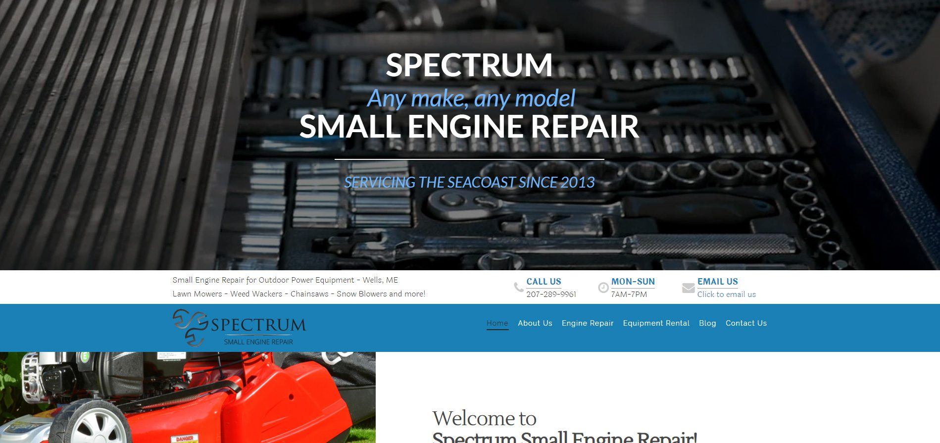 Spectrum Small Engine Repair